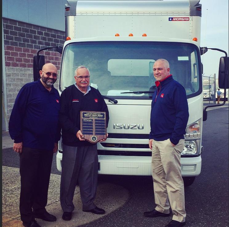 Bentley Truck Services - Isuzu Award Winner